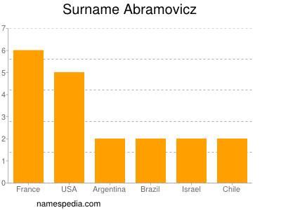 Surname Abramovicz