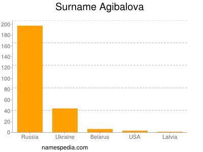 Surname Agibalova