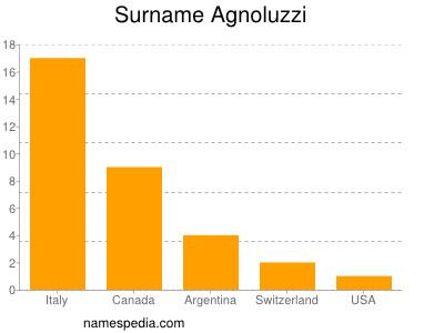 Surname Agnoluzzi