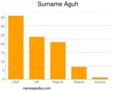 Familiennamen Aguh