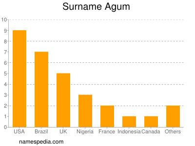 Surname Agum