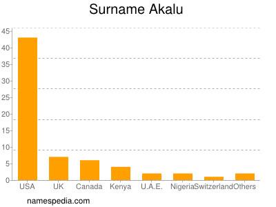 Surname Akalu