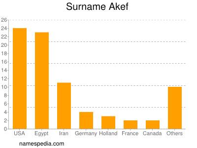 Surname Akef