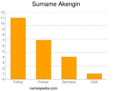 Familiennamen Akengin