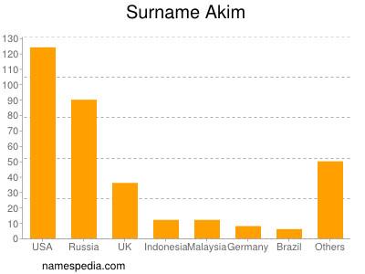 Surname Akim