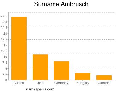 Surname Ambrusch