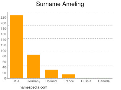 Surname Ameling