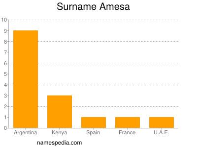 Surname Amesa