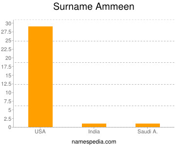 Surname Ammeen