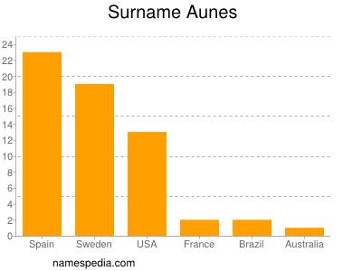 Surname Aunes