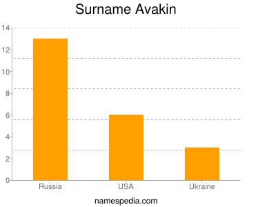 Familiennamen Avakin