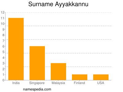 Surname Ayyakkannu