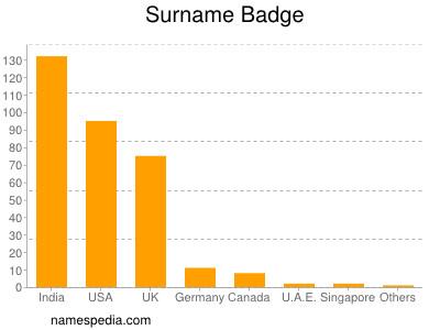 Surname Badge