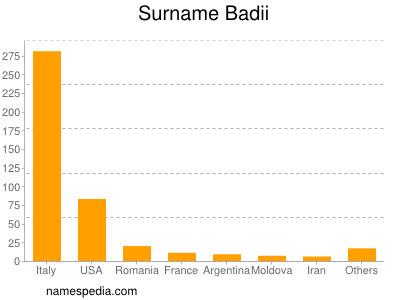 Surname Badii