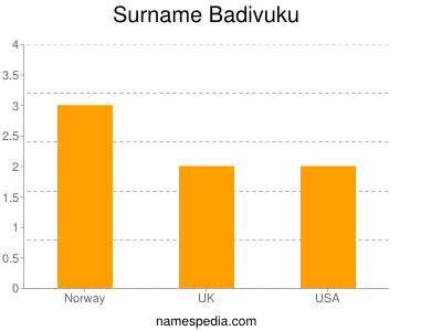 Familiennamen Badivuku