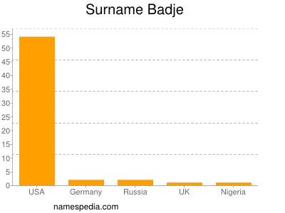 Surname Badje