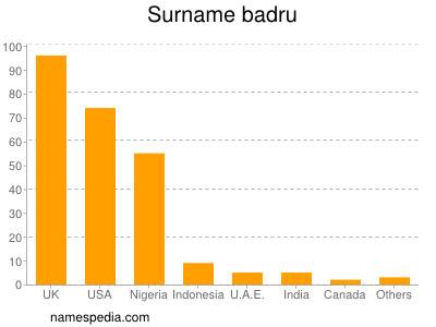 Surname Badru