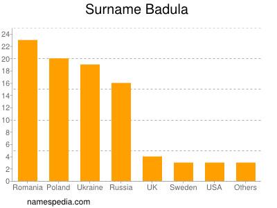 Surname Badula