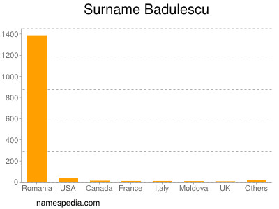 Surname Badulescu