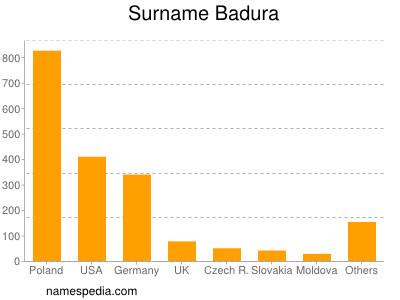 Surname Badura