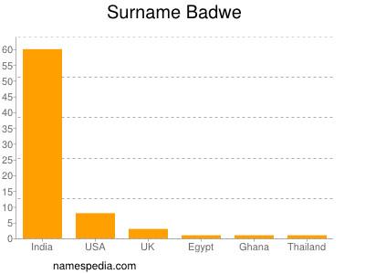Surname Badwe