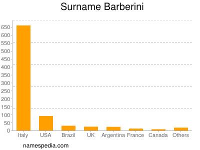 Surname Barberini