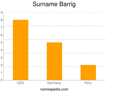 Surname Barrig