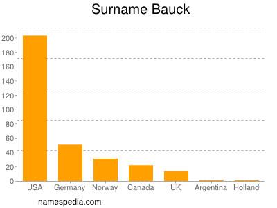 Surname Bauck