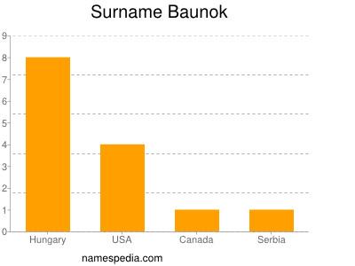 Surname Baunok