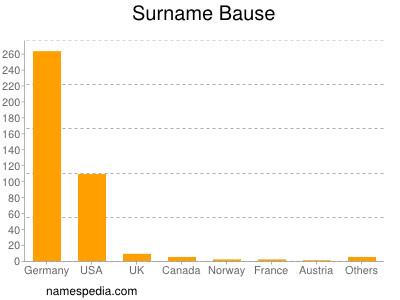 Surname Bause