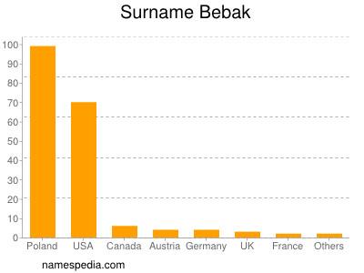 Surname Bebak