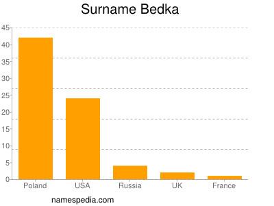 Surname Bedka