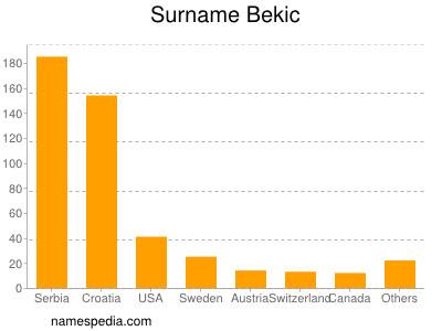 Familiennamen Bekic