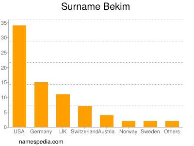 Surname Bekim