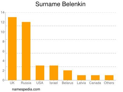Surname Belenkin