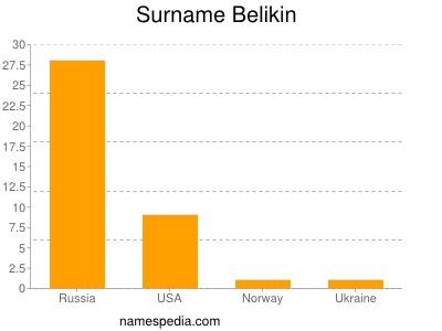 Familiennamen Belikin