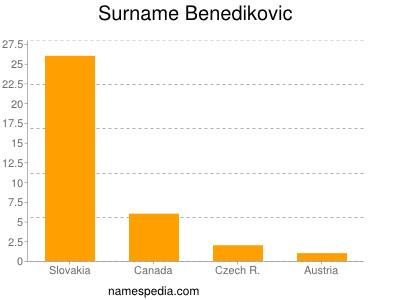 Surname Benedikovic