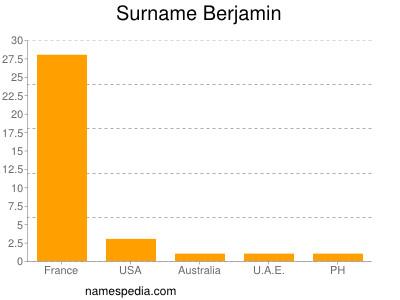 Surname Berjamin