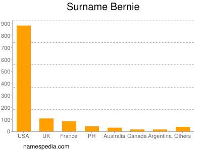 Surname Bernie