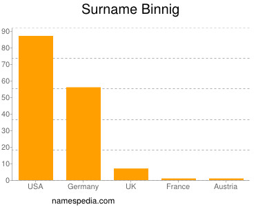 Surname Binnig