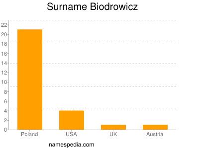 Surname Biodrowicz