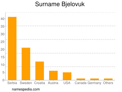 Surname Bjelovuk