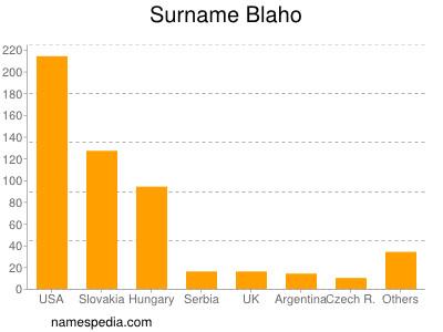 Surname Blaho