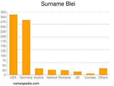 Surname Blei
