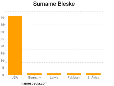 Surname Bleske