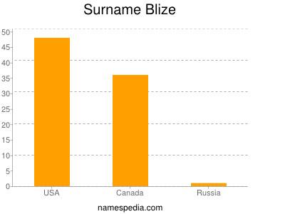 Surname Blize