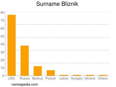 Surname Bliznik