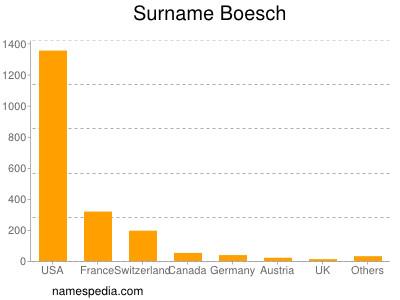 Surname Boesch