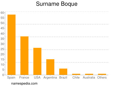 Surname Boque