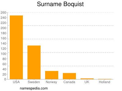 Surname Boquist